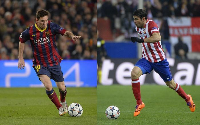 Ligue des Champions Messi - Diego Costa, le duel continue