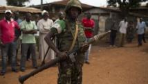 Un soldat de la Misca dans le quartier Pk5, à Bangui, le 23 mars 2014. REUTERS/Siegfried Modola