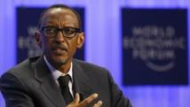 Le président rwandais Paul Kagame au forum économique mondial de Davos, le 24 janvier 2014.