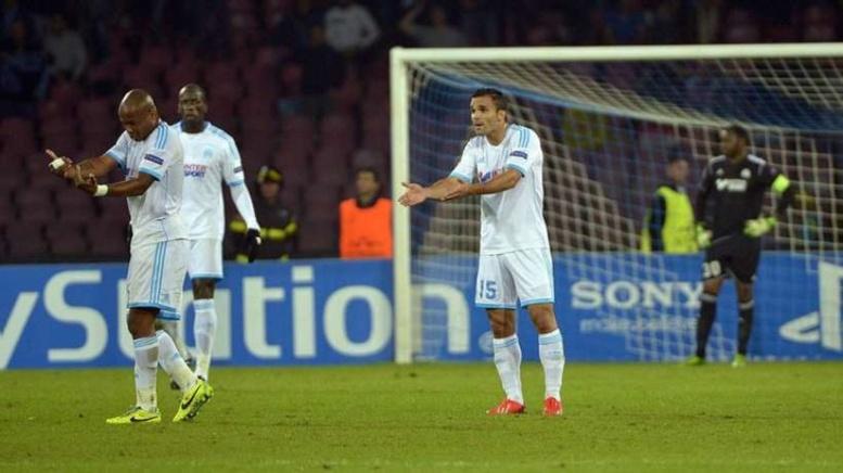 Le zero pointé de l'OM en LdC n'a pas vraiment aidé la France à l'indice UEFA