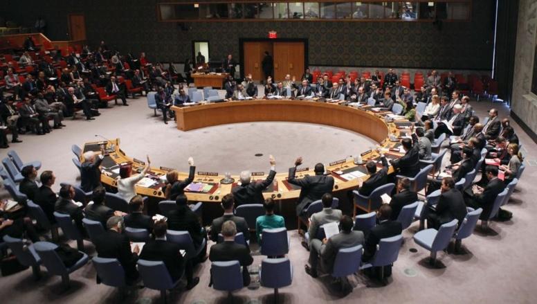 Conseil de sécurité de l'ONU à New York au moment du vote, jeudi 10 avril 2014.