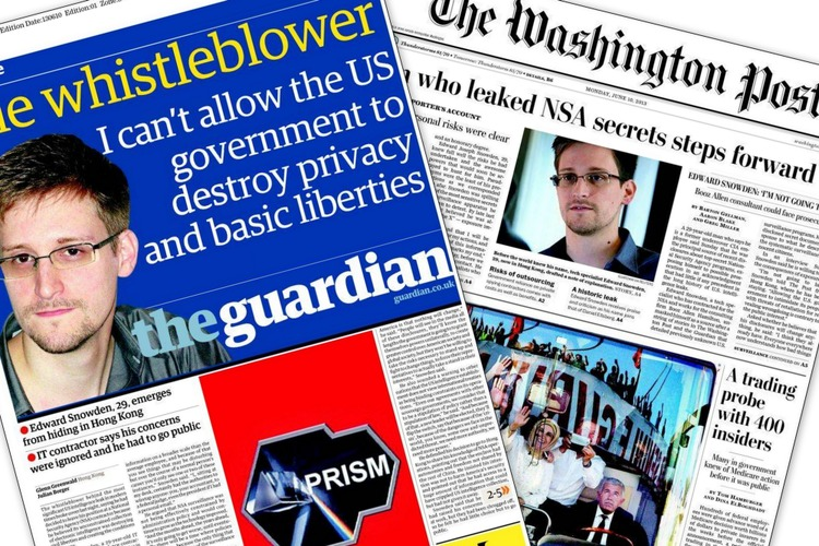 PRIX PULITZER AU GUARDIAN US ET AU WASHINGTON POST POUR L'AFFAIRE SNOWDEN