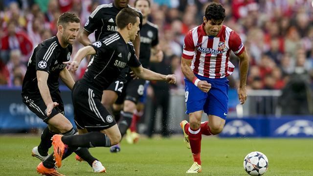 Demi-finale aller Ligue des Champions: Atlético de Madrid et Chelsea rendent copie blanche
