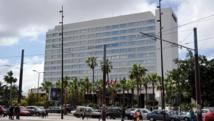 L'hôtel Hyatt Regency de Casablanca, où séjourne l'ancien président sénégalais Abdoulaye Wade. AFP/Stringer