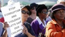 Vingt ans après la fin de l'apartheid, l'ANC minée par la corruption