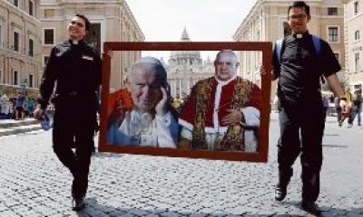 Les jours de fête des saints Jean XXIII et Jean-Paul II dans le calendrier