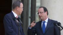 """Moussa Mara a remercié les """"amis du Mali"""" tels que Ban ki-Moon (ONU) et François Hollande (France)."""