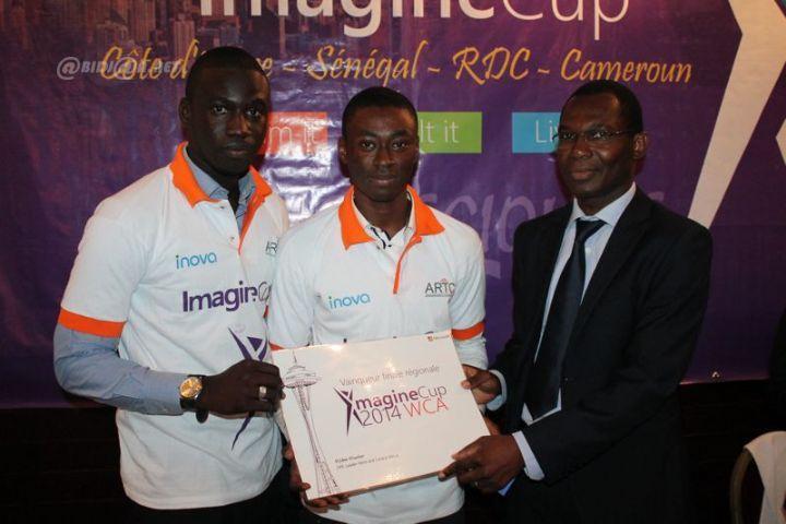 """Imagine Cup 2014: Vainqueur de la finale régionale, le Sénégal en route pour Seattle avec """"E-control"""""""