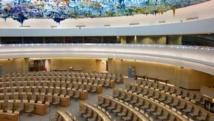 La salle du Conseil des droits de l'homme de l'ONU, à Genève. Wikimedia