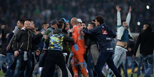Naples remporte une finale de Coupe d'Italie marquée par des blessés par balle