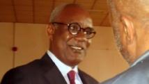L'ancien ministre de l'Intérieur camerounais, Marafa Hamidou Yaya, avant l'ouverture de son procès, le 16 juillet 2012 à Yaoundé.