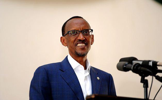 Paul Kagamé, co-lauréat du Prix 2014 des télécommunications et de la société mondiale de l'information.