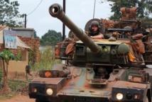 AFP/AFP - Des soldats de la force française Sangaris le 27 février 2014 à Bangui