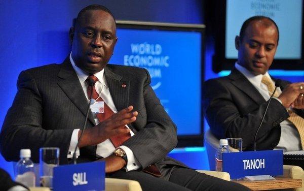 Le Président Sall au Forum économique mondial sur l'Afrique