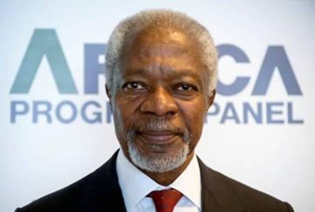 Kofi Annan, ancien Secrétaire général des Nations Unies