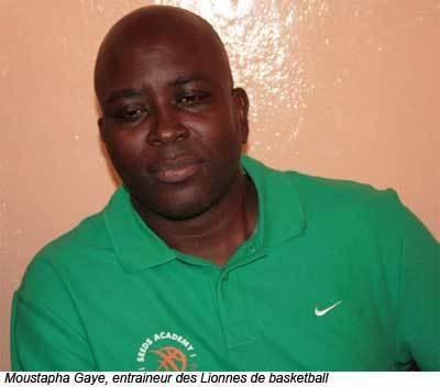Basket-Ball : Moustapha Gaye  rempile  sur le banc des « lionnes »