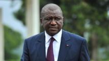 Le ministre de l'Intérieur, Hamed Bakayoko, à Abidjan, le 5 septembre 2012.AFP PHOTO / ISSOUF SANOGO