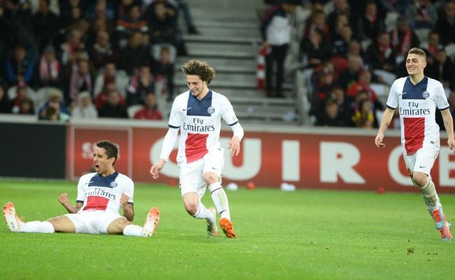 Le PSG fait trembler Lille