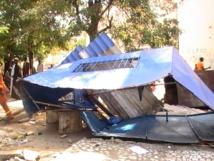 Images Opérations de déguerpissements: la détermination des agents destructeurs face à la détresse des commerçants
