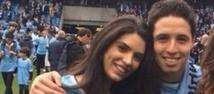 Etihad Stadium (Manchester), dimanche. Anara Antanes ne goûte pas du tout la non-sélection de Samir Nasri, son petit ami, pour le Mondial 2014