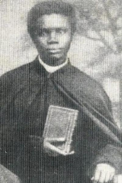L'Abbé Guillaume Jouga, de père Ouolof et de mère Peule