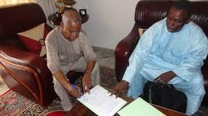 Djibo Leiti Ka signe la Charte d'engagement à la bonne gouvernance locale