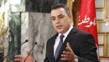 Le Premier ministre Mehdi Jomaâ lors d'une conférence de presse, à Tunis, le 26 janvier 2014. REUTERS/Anis Mili