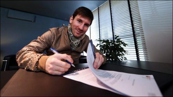 Barca : Messi prolonge (encore)