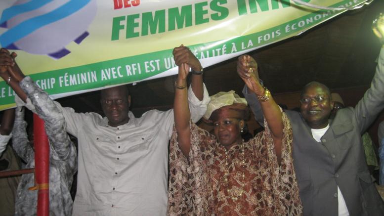 Innocence Ntab Ndiaye signe son ralliement à l'Apr