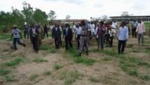 Le garde des Sceaux ivoirien visite la ferme de Saliakro. DR