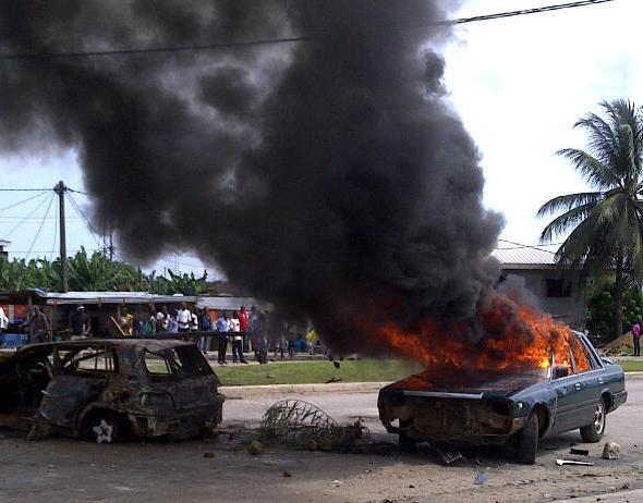 GABON-UNIVERSITE-VIOLENCES : Le sang a coulé sur l'UOB, faisant des victimes côté gendarmes et étudiants
