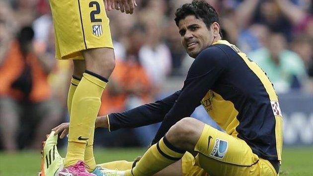Ligue des champions - Diego Costa essaye tout même le placenta de jument pour jouer la finale