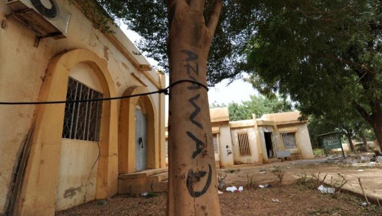 A Gao, on pouvait lire le 2 février dernier sur cet arbre «Azawad», le nom qui désigne la région du nord du Mali. AFP PHOTO/ SIA KAMBOU