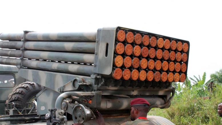 Les FARDC sont engagées dans une offensive contre les ADF-Nalu à la frontière ougandaise. AFP/Alain Wandimoyi
