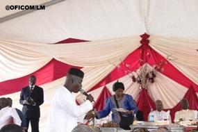 Samba Sine, alias Koutia, a aussi célébré le jubilé de « son ami », dimanche dernier