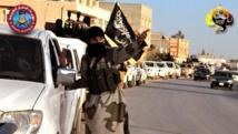 Une patrouille d'Ansar al-Charia Libye dans la région de Cyrénaïque.