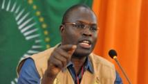 Khalifa Sall, le maire de Dakar, le 13 mars 2013 à Niamey (Tchad). AFP PHOTO SEYLLOU