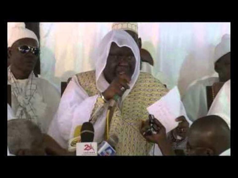 Cérémonie officielle 134ème Appel Seydina Limamou Laye: Abdoulaye Daouda Diallo sollicite des prières pour le président Sall