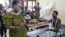 Centrafrique: Catherine Samba-Panza au chevet des victimes des violences