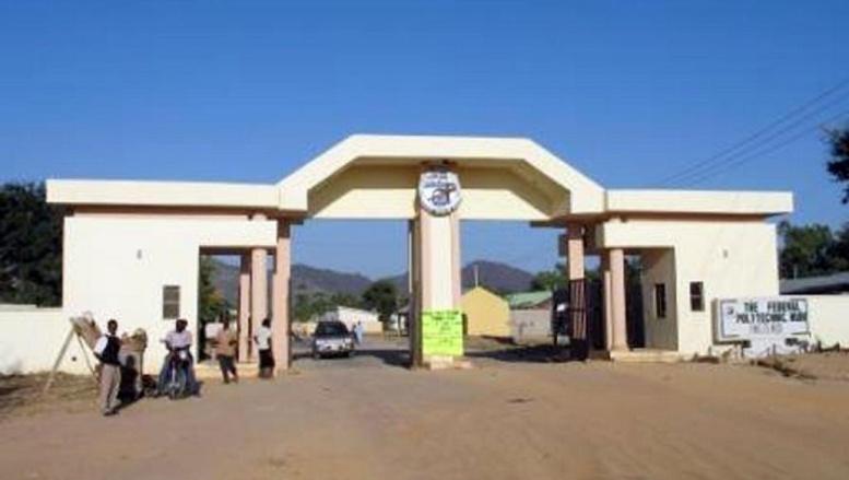 Photo non datée de l'entrée de l'Ecole fédérale polytechnique de Mubi où a eu lieu le mssacre des étudiants le 2 octobre 2012.
