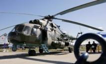AFP/AFP/Archives - Un hélicoptère MI-8 au Salon aéronautique Maks près de Moscou, le 18 août 2005