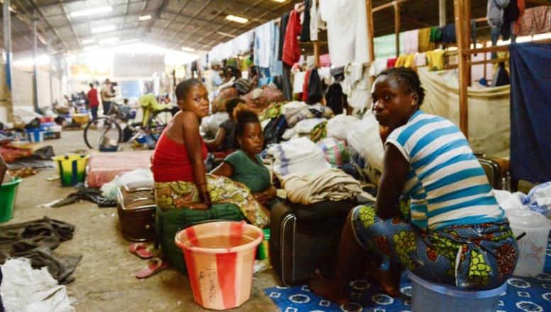 Dans le camp de Maluku, en RDC, près de 3 000 des 40 000 personnes expulsées du Congo-Brazzaville attendent de trouver un endroit où s'installer.