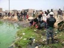 Noyade à Guédiawaye: le corps sans vie de Papel, 7 ans repêché dans le bassin de rétention de Bagdad