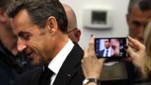 Nicolas Sarkozy, à Nice, le 10 janvier 2014. REUTERS/Eric Gaillard