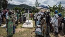Obsèques de l'abbé Paul-Emile Nzale, à Bangui, le 5 juin 2014. AFP/MARCO LONGARI