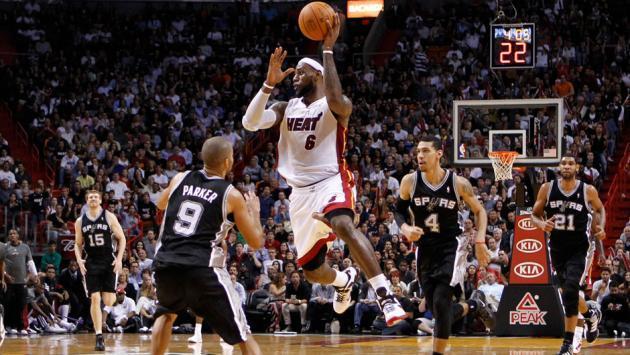 NBA Finals 2014 : Spurs vs Heat 110-95 (Game 1), un money-time à sens unique