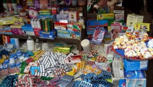 Toubacouta: La Douane saisie de 1 815 kg de médicaments contrefaits