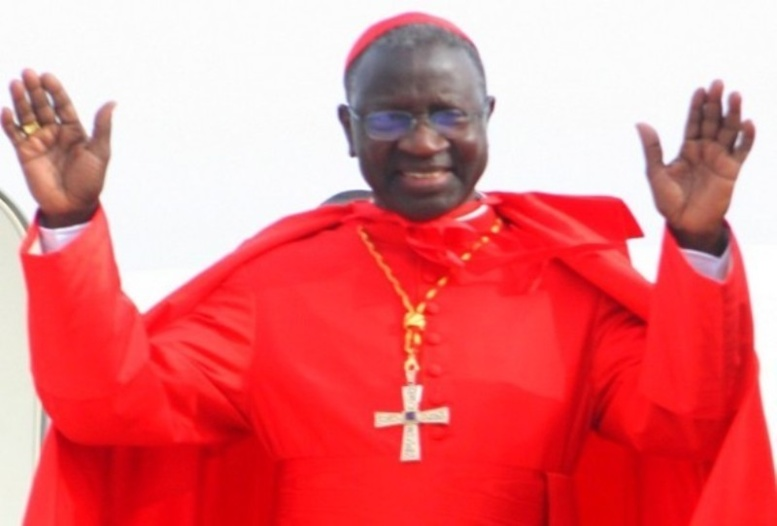 Popenguine 2014- Cérémonie de Clôture: le Cardinal Sarr prie pour la paix dans le monde