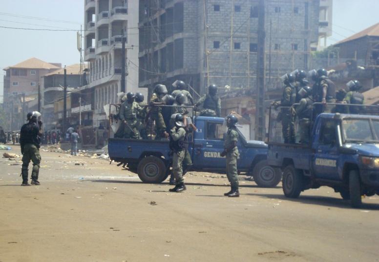 ALERTE Guinée: la police empêche le parti d'opposition de tenir son congrès