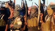 Des jihadistes de l'Etat islamique en Irak et au Levant, dans une vidéo de propagande datée du 8 juin 2014. AFP PHOTO / HO / ISIL